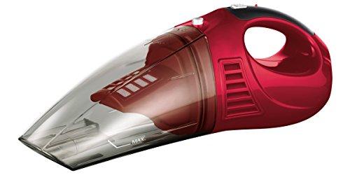 CLEANmaxx 08862 Akku-Handsauger | Trockenschmutz & Flüssigkeiten | Autosauger, Tische, Sofas, Tastaturen, u.v.m. | Rot