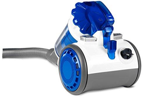 MEDION MD 15327 Multizyklon-Staubsauger EPA, Filtersystem, 0,6L, Polsterbürste EEK: C weiß