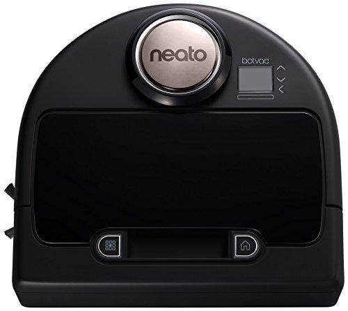 Neato 945-0181 Botvac-Connected Staubsaugerroboter Appsteuerung Schwarz/Grau