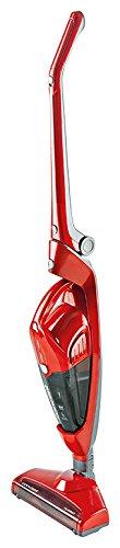 CONCEPT Hausgeräte vp4100 Akkustaubsauger mit abnehmbarem Handstaubsauger 2-in-1, 0,5 L, rot