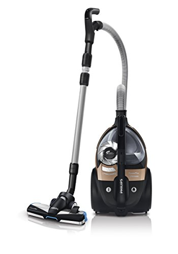 Philips PowerPro Ultimate Animal FC9922/09 beutelloser Staubsauger extra Turbodüse für Tierhaare kupfer