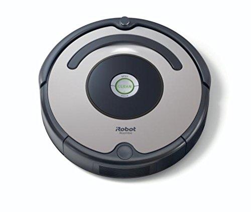iRobot Roomba 615 Staubsaugroboter hohe Reinigungsleistung, für alle Böden, geeignet bei Tierhaaren grau