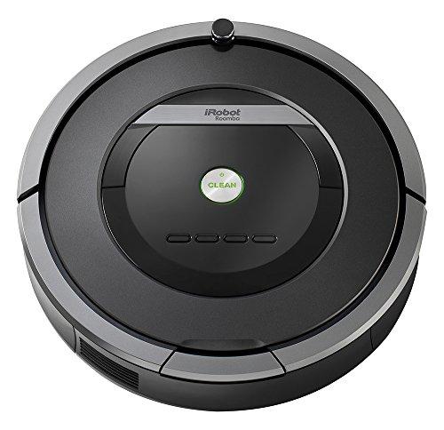iRobot Roomba 871 Staubsaugroboter fortschrittliche Reinigungsleistung, Reinigung nach Ihrem Zeitplan, ideal bei Tierhaaren grau