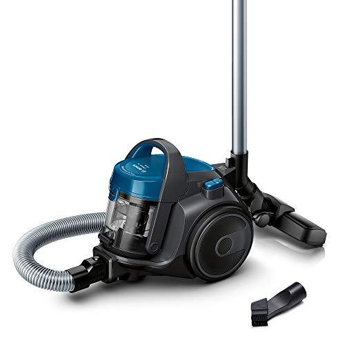 Bosch BGC05A220A Cleann'n Staubsauger beutellos, kompakte Gerätegröße, platzsparend, steingrau