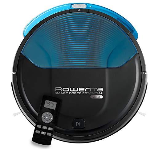 Rowenta RR6971 Smart Force Essential Aqua Saug- und Wischroboter | 2in1 Roboter-Staubsauger mit Wischfunktion | hohe Saugleistung auf allen Böden | bis zu 150 Minuten Laufzeit