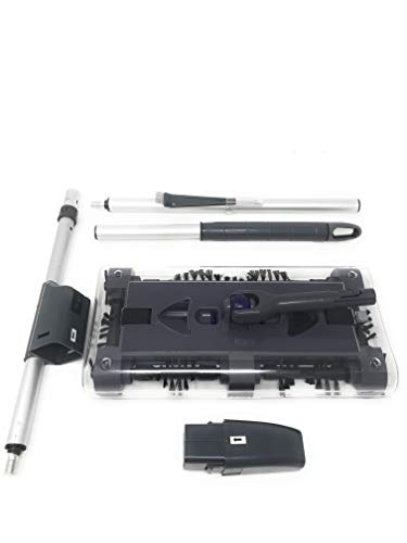 TV – G3 Swivel Sweeper Original-Akku-tragbare Staubsauger rotierenden Besen mit vier rotierende Bürsten nehmen den Schmutz schnell auf. Neues Modell mit der Kopf ist um 360° drehbar MWS