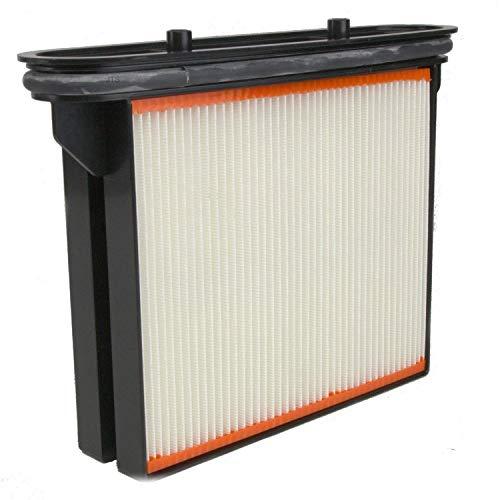 Ersatzteil für Nass- / Trockensauger von Bosch Gas 25 – DeClean 1 x Filter Ersatzfilter Feinstaubfilter Faltenkassette Faltenfilter Nassfilter