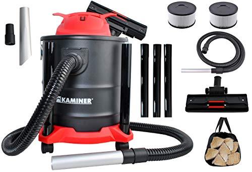Kaminer Aschesauger 20L max. 2000W 3in1 HEPA Filter Staubsauger Edelstahl Grill 8790