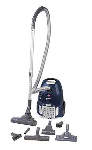 Hoover TE 80 PET Telios Plus Staubsauger mit Beutel, Kunststoff, 3.5 liters, Blau
