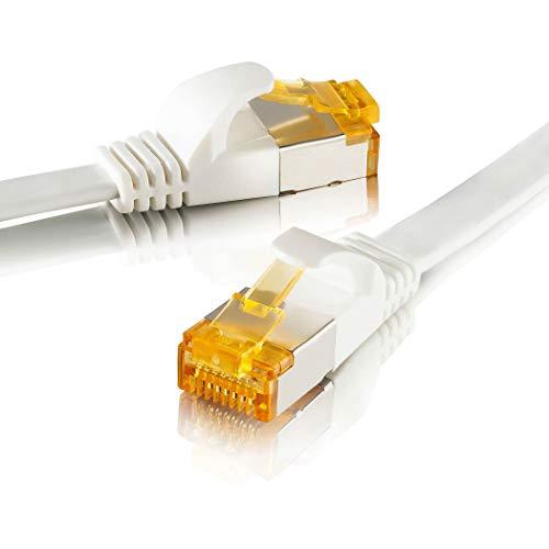 Top 10 Netzwerkkabel Flach 15 Meter CAT 7 – Ethernet-Kabel