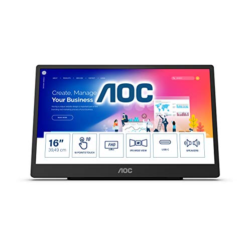 Top 10 Tragbarer Monitor USB C Touch – Monitore