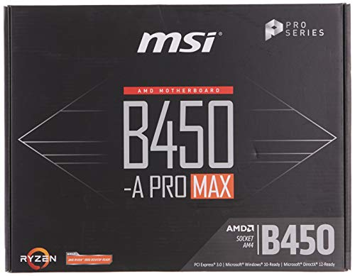 Top 9 MSI B450 A-pro MAX – Mainboards