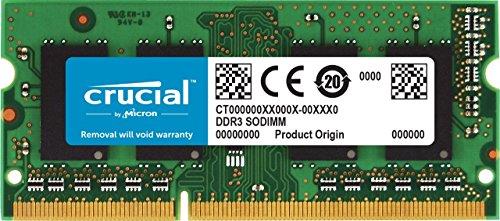 Top 10 Crucial RAM 8GB – Notebooks