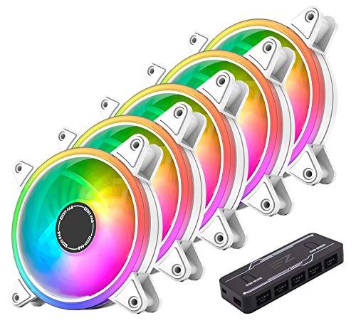 Top 9 Weißes PC Gehäuse mit RGB Lüfter – Gehäuselüfter